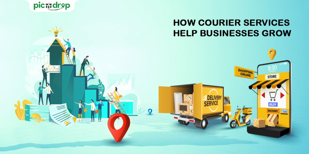 How courier services help businesses to grow